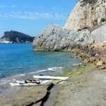 Escursione in kayak a Varigotti (Liguria) del 19 Luglio 2016 – Circa 5 Km. Kayak excursion in Varigotti (Liguria) of July, 19, 2016 – About 5 Km.