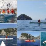 Escursione in kayak a Bergeggi (Liguria) del 4 Agosto 2016 – Circa 4 Km.