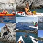 Doppia escursione in Kayak a Bergeggi (Liguria) del 12 Agosto 2016