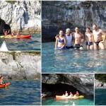 Escursione in kayak a Bergeggi (Liguria) del 24 Agosto 2016 – Circa 3 Km.