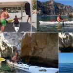 Corso di canoa SOTTER ADVANCED a Varigotti (Spiaggia della Liguria) del 4 Agosto 2016