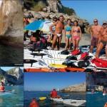 Escursione in canoa a Varigotti del 13 Agosto 2016 – Kayak excursion in Varigotti (Liguria) of August, 13, 2016
