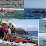 """Corso di kayak da mare """"PROGRESS"""" a Varigotti di inizio ottobre 2016"""