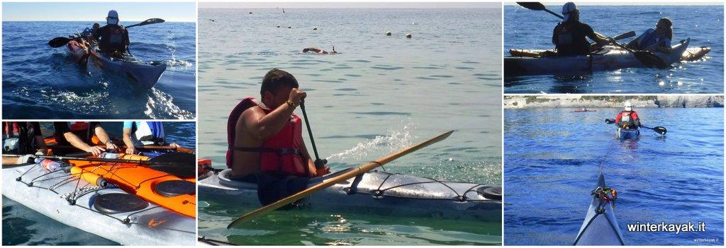 Corsi di sicurezza e salvataggio per kayak da mare