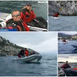 Isola di Bergeggi in kayak, 22 marzo 2017 – Intervista su Rai 3
