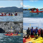 Escursione guidata in canoa all'Isola di Bergeggi del 17 Aprile 2017 – Kayak excursion in  Bergeggi (Liguria) of April, 17, 2017 – About 4 Km