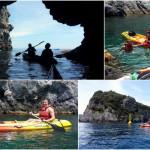 Gita guidata in canoa all'Isola di Bergeggi