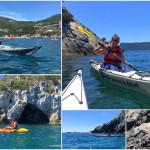 Escursione in Kayak a Bergeggi (Liguria) del 21 Maggio 2017