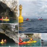 Escursione in Kayak a Bergeggi (Liguria) del 03 Giugno 2017