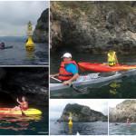 Escursione in Kayak a Bergeggi (Liguria) del 23 Giugno 2017