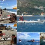 Corso di kayak da mare Sotter Advanced a Bergeggi del 03 Luglio 2017
