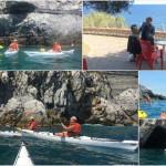 """Corso per kayak da mare """"Sotter Advanced"""" del 17 luglio 2017"""