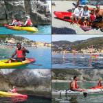 Escursioni a Varigotti (Liguria) del 8 luglio 2017, con GRIGLIATA serale! – Canoe excursion in Varigotti of 2017, july, 08, with BBQ!