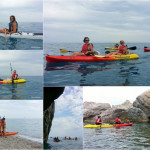 Escursione a Varigotti (Liguria) – Baia dei Saraceni del 9 luglio 2017 – Canoe excursion in Varigotti of 2017, july, 09