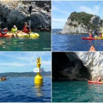 Escursione in kayak a Bergeggi (Liguria) del 17 Luglio 2017 – Circa 4 Km. Kayak excursion in Bergeggi (Liguria) of July, 17, 2017 – About 4 Km.