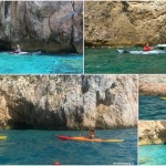 Escursione in canoa a Varigotti del 30 luglio 2017