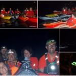 Varigotti, 17 agosto 2017 – Notturna in canoa per fuochi d'artificio