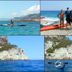 Canoe excursion in Varigotti, 2017, September the 8th – Escursione in canoa a Varigotti dell'8 settembre 2017