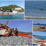 Escursioni in kayak da Bergeggi a Spotorno e a Capo Noli (Liguria) del 23 e 24 ottobre