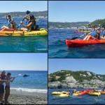 Avventura in canoa tra grotte e tuffi per i piccoli ospiti del Campo Sole di Alassio