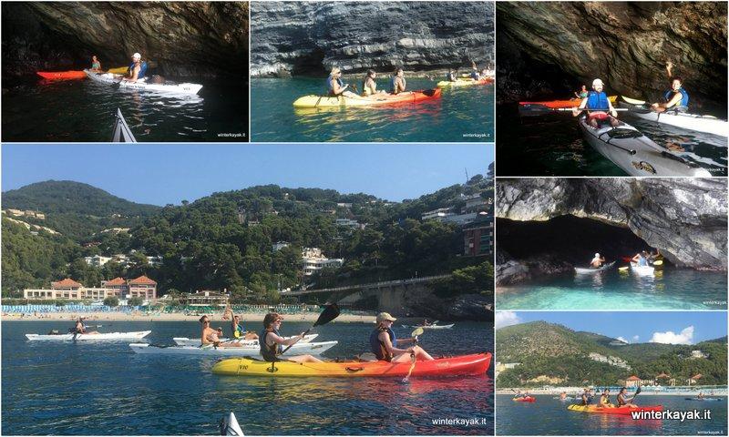 Escursione in canoa a Bergeggi del 08082018