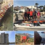 Gita in kayak da mare fuori porta del 20 e 21 ottobre. Da Cannes a Saint Raphael.
