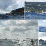 Giornata di surf in kayak intorno all'Isola di Bergeggi