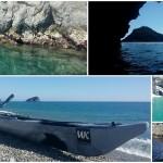 Escursione in kayak da Bergeggi a Spotorno (Liguria) del 18 Marzo 2016