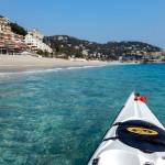 Escursione in Kayak a Bergeggi (Liguria) del 19 Marzo 2015 – Circa 12 Km.