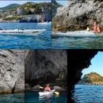 Doppia escursione in Kayak a Bergeggi (Liguria) del 21 Agosto 2015 – Circa 3 Km + 4 km Kayak double excursion Bergeggi (Liguria) of August, 21,  2015 – About 3 Km + 4 Km.