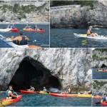 gita in canoa a Bergeggi del 27 luglio 2019
