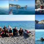 Escursione in Kayak a Bergeggi (Liguria) del 08 Novembre 2015 – Circa 12 Km. Kayak excursion in Bergeggi (Liguria) of November, 08,  2015 – About 12 Km.