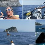 Corso di kayak da mare del 03072019