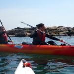Escursione in Kayak a Bergeggi (Liguria) del 14 Aprile 2015 – Circa 8 Km.
