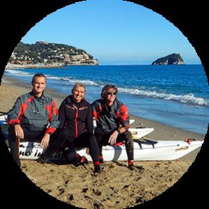 Escursioni in canoa e kayak in inverno a Spotorno 14
