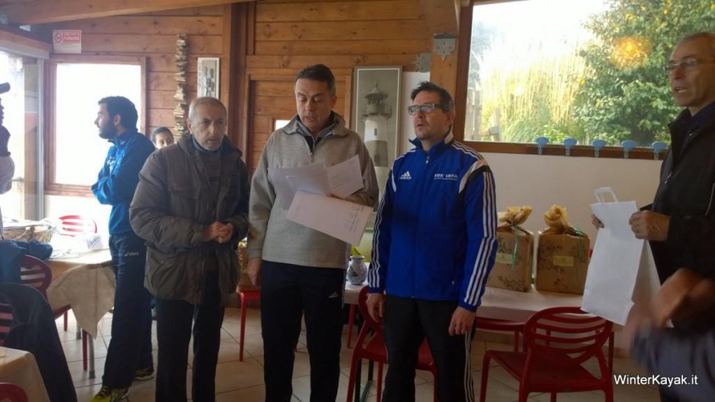 La premiazione presso i Bagni Stella Maris con il Presidente della Pro Loco Bergeggi Marco Olcese