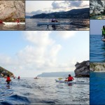 Doppia escursione in Kayak a Bergeggi (Liguria) del 17 Luglio 2015 – Circa 3+5 Km. Kayak double excursion in Bergeggi (Liguria) of July, 17,  2015 – About 3+5 Km.