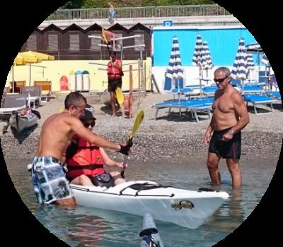 Winterkayak - Escursioni introduttive - Corso base di Canoa e Kayak in Liguria
