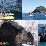 Isola di Bergeggi, escursione in canoa del 17 luglio 2019