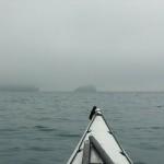 """Nebbia di Liguria in kayak, 17 aprile 2018 con le nostre foto in onda a """"Buongiorno Regione"""" su Rai 3 Liguria"""