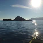 Verso l'isola di Bergeggi