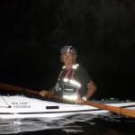 Escursione notturna in kayak