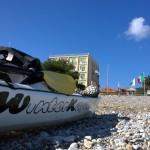 Escursione in Kayak a Bergeggi (Liguria) del 3 Marzo 2015 – Circa 9 Km.