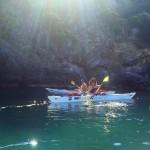 Escursione in Kayak a Bergeggi (Liguria) del 12 Aprile 2015 – Circa 25 Km.