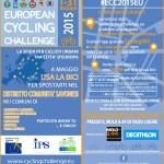 In bici seguiti dal satellite dell'European Cycling Challenge 2015