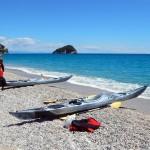 Escursione in Kayak a Bergeggi (Liguria) del 27 Maggio 2015 – Circa 7 Km. Kayak excursion in Bergeggi (Liguria) of May, 27,  2015 – About 7 Km.