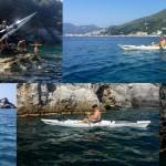 Escursione in Kayak a Bergeggi (Liguria) del 6 Giugno 2015 – Circa 8 Km.
