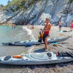 Escursione in Kayak a Bergeggi (Liguria) del 11 Giugno 2015 – Circa 6 Km. Kayak excursion in Bergeggi (Liguria) of June, 11,  2015 – About 6 Km.