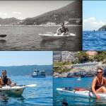 Escursione in Kayak a Bergeggi (Liguria) del 20 Giugno 2015 – Circa 6 Km.