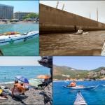 Escursione in Kayak a Bergeggi (Liguria) del 28 Giugno 2015 – Circa 15 Km. Kayak excursion in Bergeggi (Liguria) of June, 28,  2015 – About 15 Km.